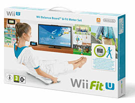 Wii Fit U with Wii Fit U Meter and Balance Board Wii U