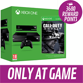 Xbox One Console with Call of Duty: Ghosts - Only at GAME Xbox One