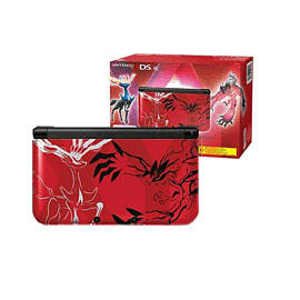 Limited Edition Pokemon Nintendo 3DS XL - Red 3DS Cover Art