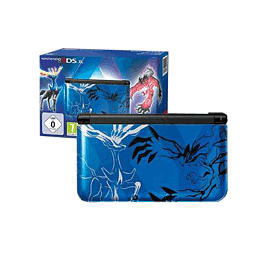 Limited Edition Pokemon Nintendo 3DS XL - Blue 3DS Cover Art