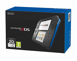 Nintendo 2DS - Black and Blue Nintendo 2DS