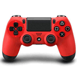 DualShock 4 Controller - Magma Red Accessories