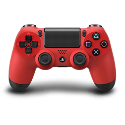 Official Sony DualShock 4 Controller - Magma Red Accessories