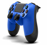 Official Sony DualShock 4 Controller - Wave Blue screen shot 1