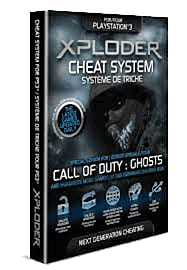 CoD: Ghosts Xploder Cheat System for PS3 Playstation 3