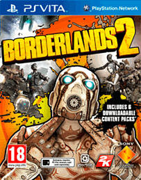 Borderlands 2 PS Vita Cover Art