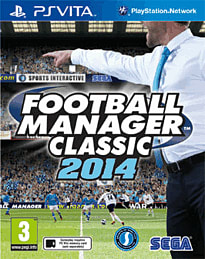 Football Manager 2014 PS Vita Cover Art
