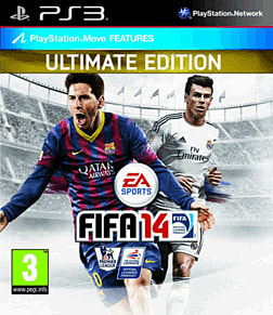 FIFA 14 Ultimate Edition GAME Exclusive PlayStation 3 Cover Art