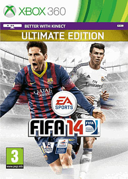FIFA 14 Ultimate Edition GAME Exclusive Xbox 360 Cover Art