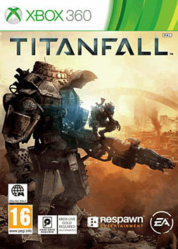 Titanfall Xbox 360 Cover Art