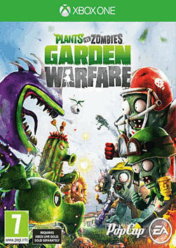 Plants Vs. Zombies: Garden Warfare Xbox One Cover Art