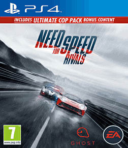 Need for Speed: Rivals Limited Edition PlayStation 4 Cover Art