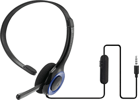 PlayStation 4 Officially Licensed Mono Headset Accessories