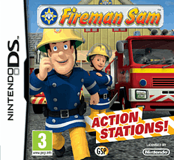 Fireman Sam - Action Stations DSi and DS Lite