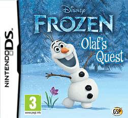 Disney's Frozen DSi and DS Lite Cover Art