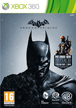 Batman: Arkham Origins Cover Art