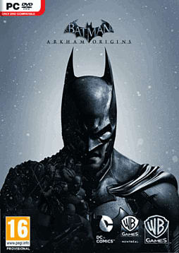 Batman: Arkham Origins PC Games Cover Art