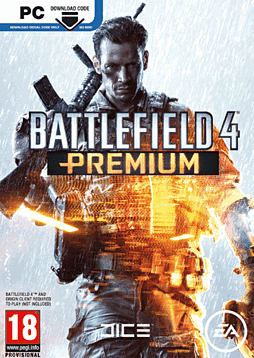 Battlefield 4: Premium Service PC Games Cover Art