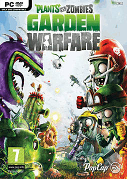 Plants Vs. Zombies Garden Warfare PC Games Cover Art