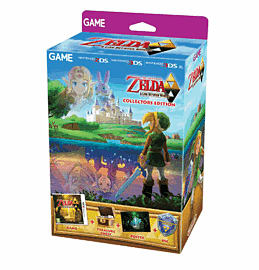 The Legend of Zelda: A Link Between Worlds Collectors Edition Nintendo 3DS Cover Art