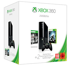 Xbox 360 E 250GB Console with Halo 4 + Tomb Raider Xbox 360