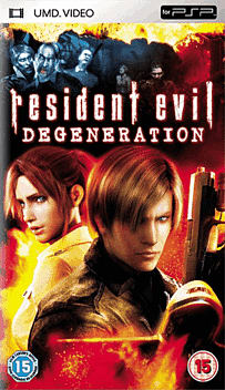 Resident Evil Degeneration PSP Cover Art