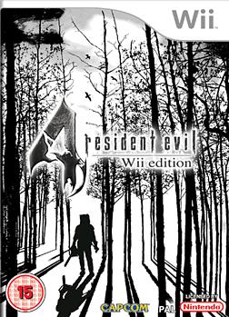 Resident Evil 4 Wii Cover Art