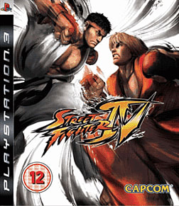 Street Fighter IV PlayStation 3 Cover Art
