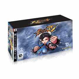 Street Fighter IV: Collector's Edition Sony PS3 Cover Art