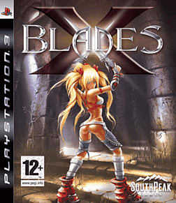 X-Blades PlayStation 3 Cover Art