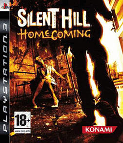 Silent Hill: Homecoming PlayStation 3 Cover Art