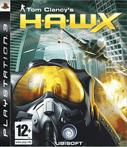 Tom Clancy's H.A.W.X PlayStation 3 Cover Art