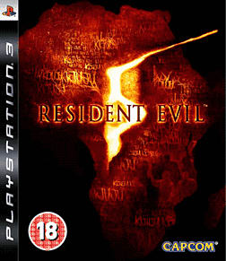 Resident Evil 5 PlayStation 3 Cover Art