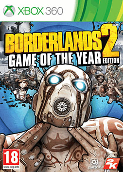 Borderlands 2: Game of the Year Edition Xbox 360 Cover Art