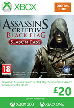 Assassin's Creed IV Season Pass Xbox Live Cover Art