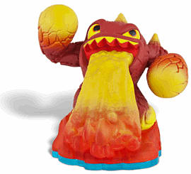 Eruptor - Skylanders SWAP Force Toys and Gadgets