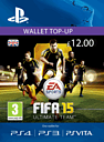 FIFA 14 Ultimate Team Wallet Top Up - £12 PlayStation Network