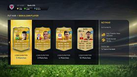FIFA 15 Ultimate Team Wallet £18 Top Up screen shot 1
