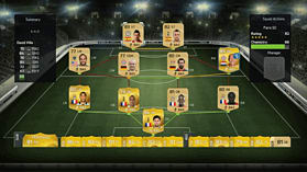 FIFA 15 Ultimate Team Wallet £18 Top Up screen shot 4
