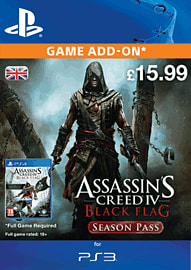 Assassin's Creed IV: Black Flag Season Pass PlayStation Network Cover Art