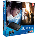 PlayStation 3 500GB with Beyond: Two Souls and The Last of Us - Only at GAME PlayStation 3