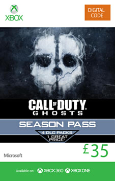 Call of Duty: Ghosts Season Pass Xbox Live Cover Art