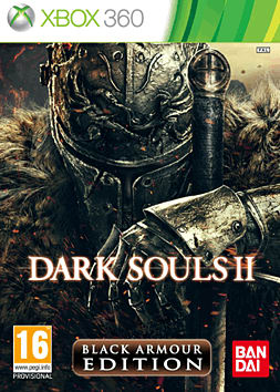 Dark Souls II Black Armour Edition Xbox 360 Cover Art
