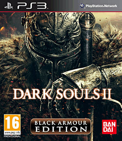 Dark Souls II Black Armour Edition PlayStation 3 Cover Art
