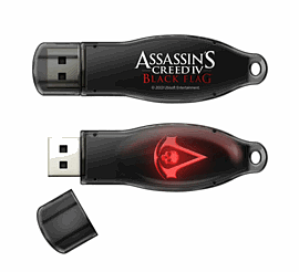 Assassin's Creed IV: Black Flag USB Drive - 4GB Clothing and Merchandise