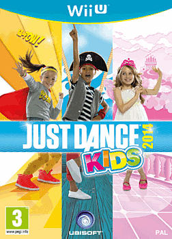 Just Dance Kids 2014 Wii U Cover Art