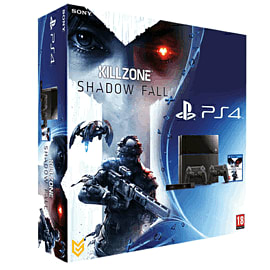 PlayStation 4 Console with Killzone: Shadow Fall, Extra Dualshock 4 Controller and PlayStation Eye Camera PlayStation 4