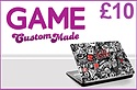 GAME Custom Made £10 Credit Gifts