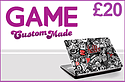 GAME Custom Made £20 Credit Gifts