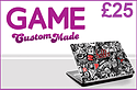 GAME Custom Made £25 Credit Gifts